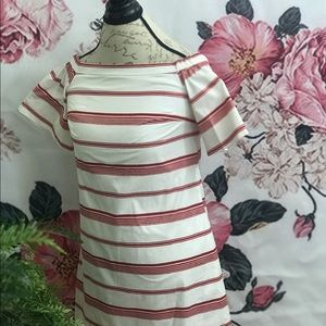 CLUB MONACO BLACK And WHITE DRESS Size 0